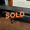 7ft' Long Black Sofa Table