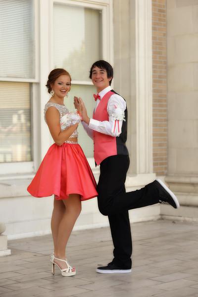 Jason and Alyssa Homecoming 2015