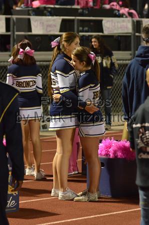 Varsity Cheer vs. MVHS