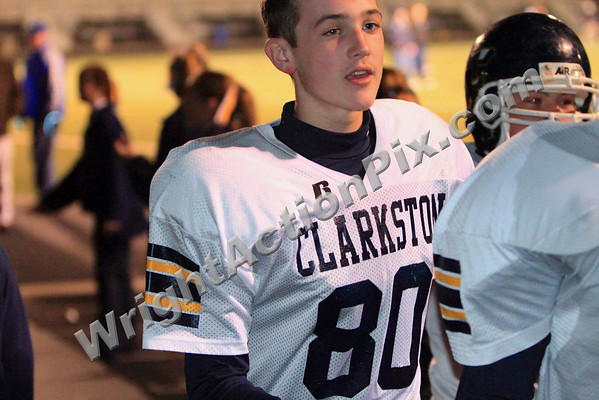 2009 10 27 CJHS 8th Grade Football Blue and Gold Game