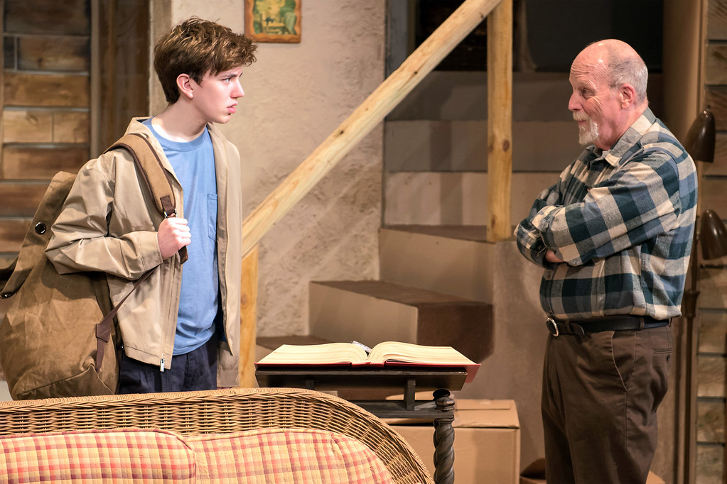 """. Christian John Thomas, left, as Daniel, and Tim Tavcar, as Walt, perform a scene in the Beck Center for the Arts production of �A Great Wilderness.� The show continues through April 9. For more information, visit <a href=\""""http://www.beckcenter.org/events/great-wilderness/\"""">beckcenter.org/events/great-wilderness</a>. (Andy Dudik)"""