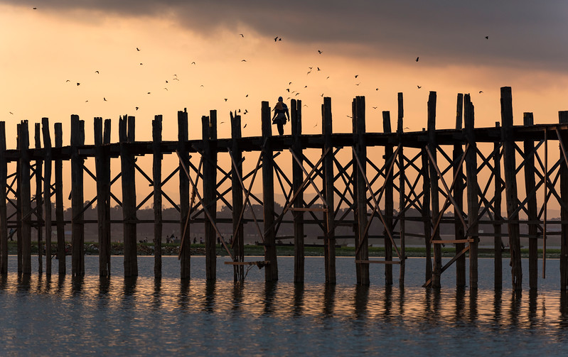 U Bein's Bridge, Amarapura