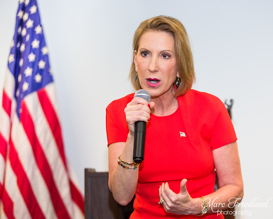 A CHAT WITH CARLY FIORINA