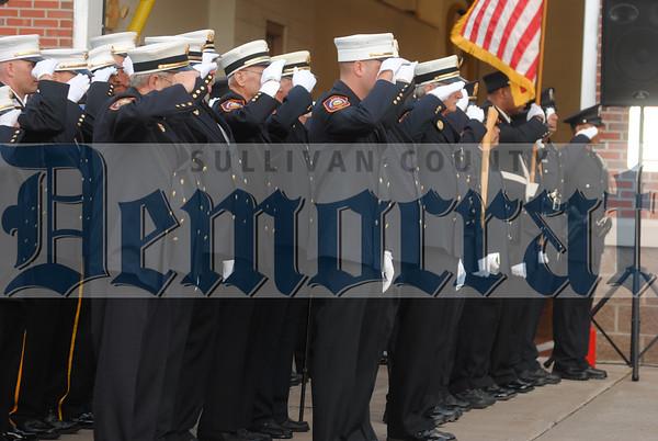 Monticello Fire Department 9.11 Ceremony