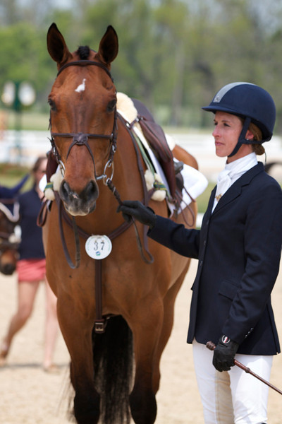 Rolex 3 day event, show jumping