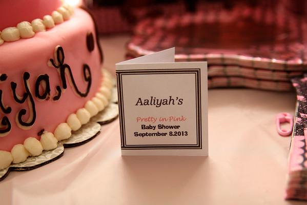 Aaliyah's Baby Shower