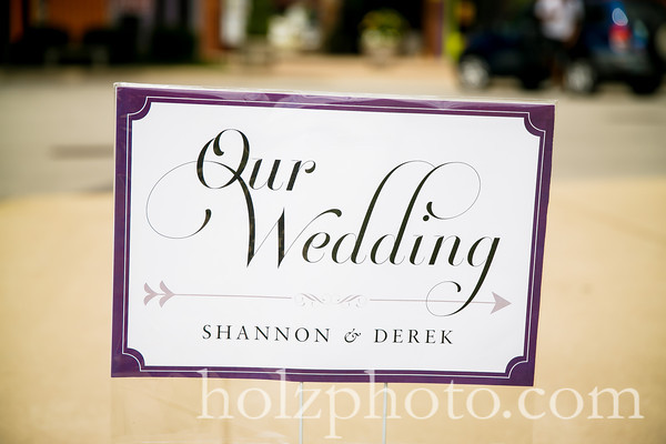 Shannon & Derek Color Wedding Photos