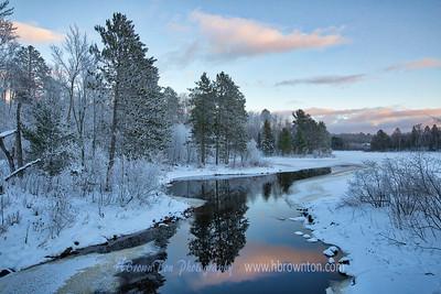 Winter on Wynne Lake 2019