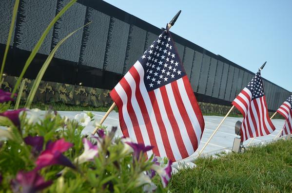 The Vietnam Veteran Memorial Moving Wall