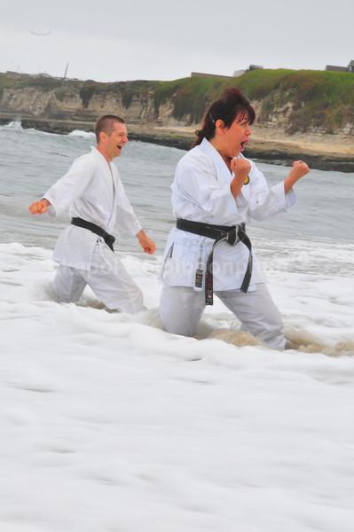 Santa Cruz Beach Training 2008