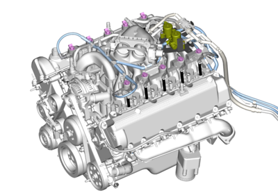 Engine CAD Images