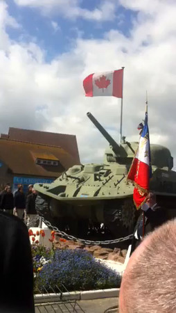 Courtesy Captain Doug Gayton, Day10 Tuesday, France, Juno Beach, Normandy