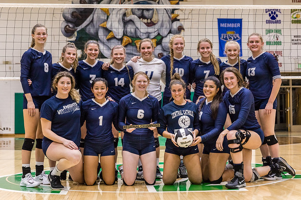 CC Varsity Volleyball vs Covington  2017-10-21 Regional Championship