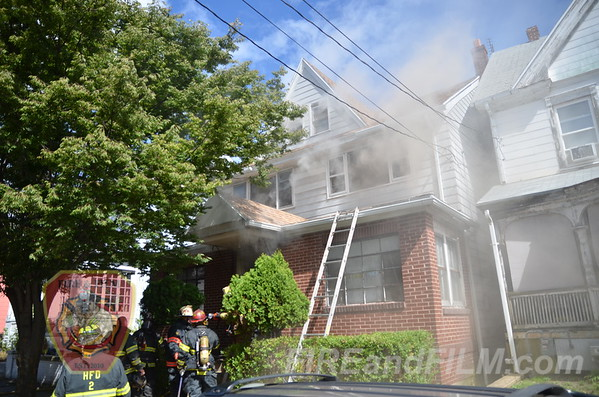 Luzerne County - Hazleton City - Dwelling Fire - 09/22/2013