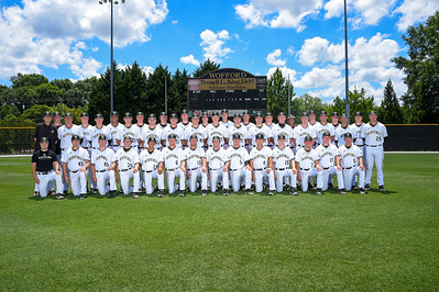 Baseball Team Smiling & Stoic