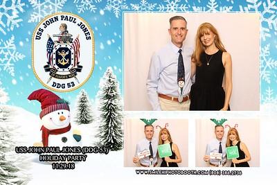 USS JohnPaul Jones Holiday Party