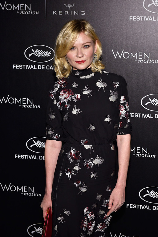 . CANNES, FRANCE - MAY 15:  Kirsten Dunst attends the Kering And Cannes Film Festival Official Dinner at Place de la Castre on May 15, 2016 in Cannes, France.  (Photo by Clemens Bilan/Getty Images for Kering)