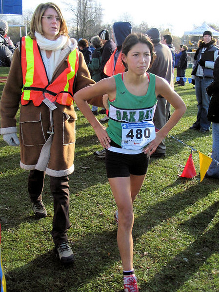2005 Canadian XC Championships - I'm only 14.  You're all going to pay next year