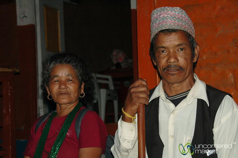 Husband and Wife Team - Ngadi Bazaar, Annapurna Circuit (Nepal)