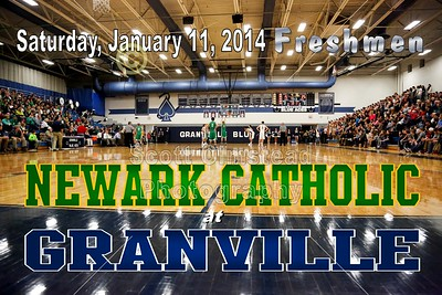 2014 Newark Catholic at Granville - FRESHMEN  (01-15-14)
