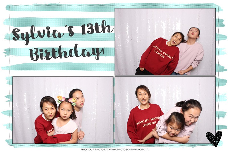Sylvia's 13th Birthday!