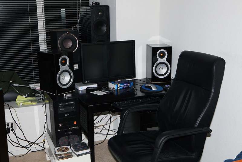 Speakers and computer equipment.jpg