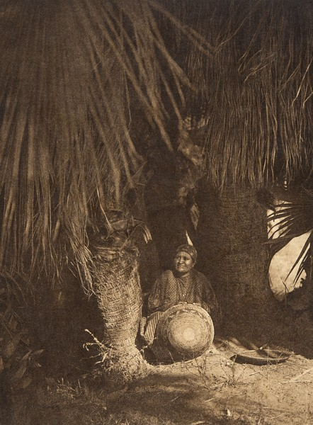 Under the palms - Cahuilla (The North American Indian, v. XV. Norwood, MA, The Plimpton Press, 1926)