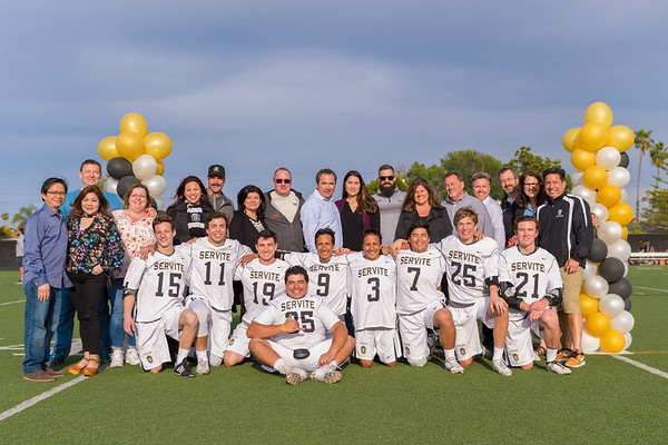 Servite Senior Night 4-6-17