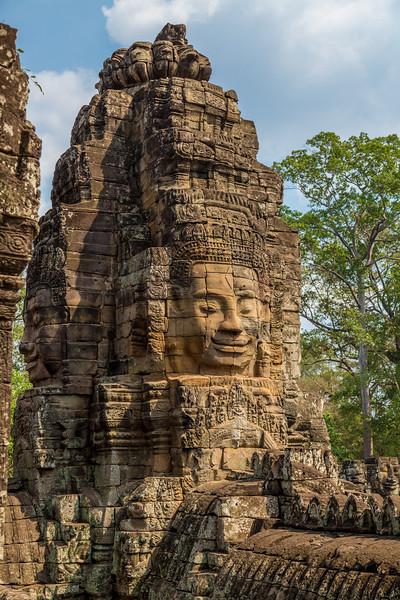 Faces of Angkor Thom