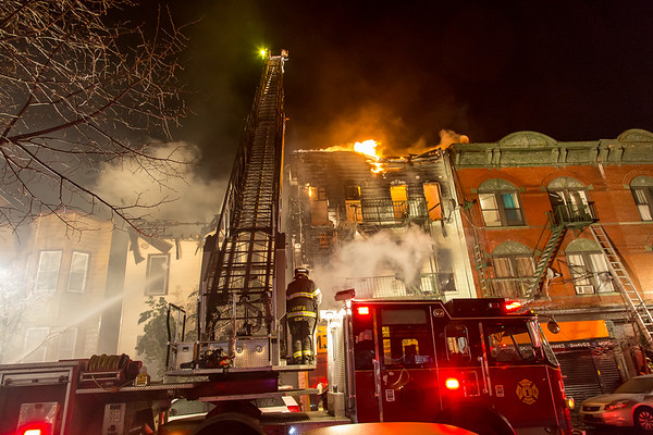Union City NJ Fatal 4th alarm 1404 & 1406 Summit Ave. and 4th alarm at 1309 Central Ave. 03-04-17