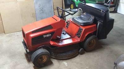 Toro 8 by 32 riding Lawnmower