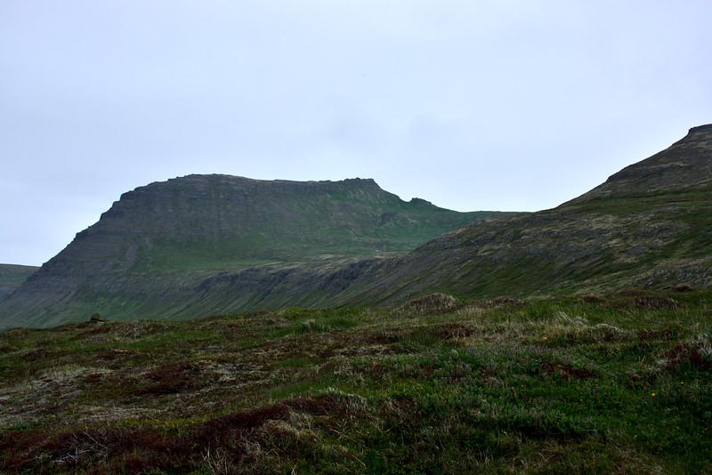 Horft upp í Miðdal