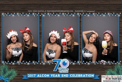2017 Alcon Year End Celebration (Right Booth)