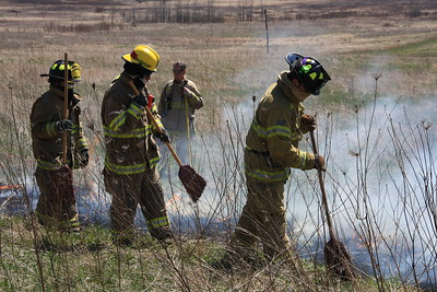 McHenry County College-Fire Science Wild Fire April 16 2016