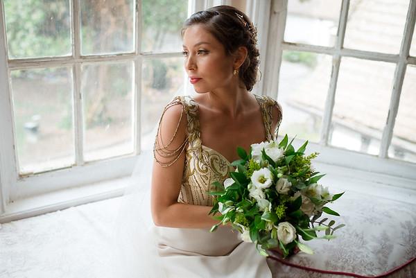 Cassandra rustic wedding