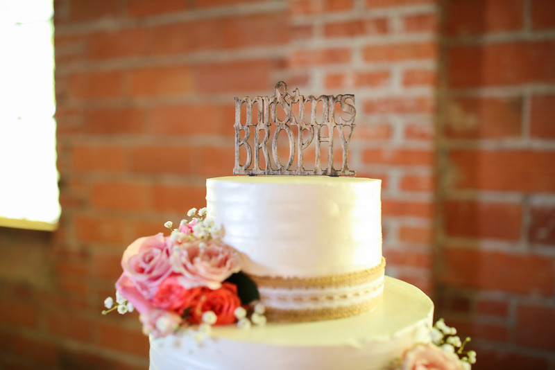 Cake Cutting & Speeches