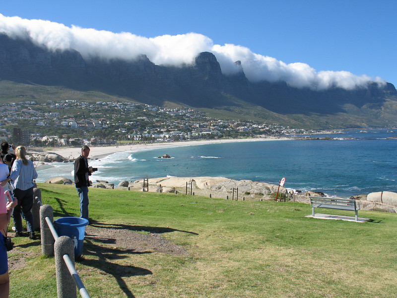 A stop at Hout Bay on the Cape Peninsula.