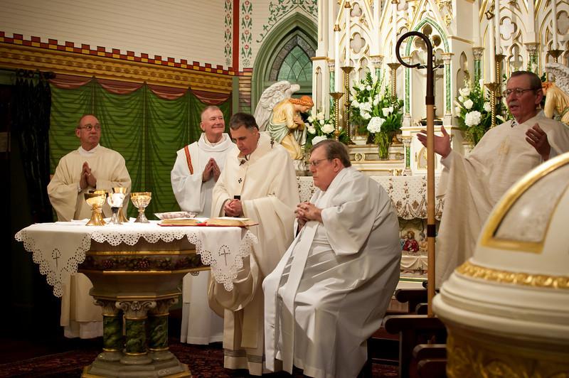 Mass Of Thanksgiving With Cardinal DiNardo