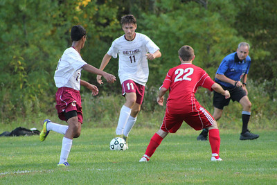 Varsity Boys Soccer vs New Fairfield - 09/27/2012