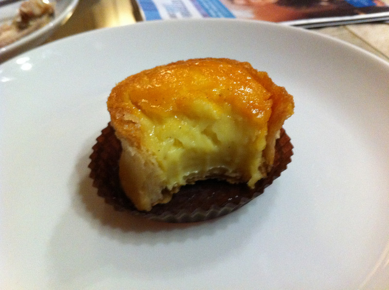 Puits d'amour from Stohrer for dessert (like creme brulee in pastry shell)