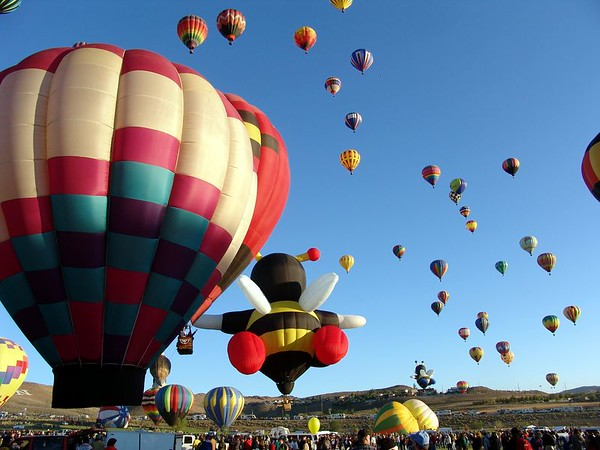 Reno Balloon Races  2004