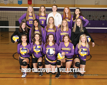 2019 Dacusville Middle Volleyball