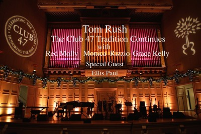 Tom Rush & Friends at Symphony Hall  12/28/2014
