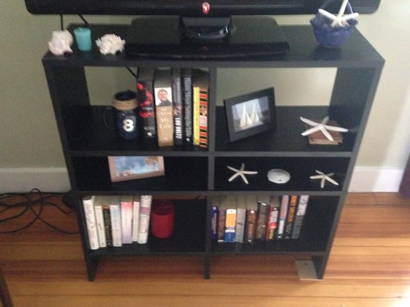 bookshelf / stand $35