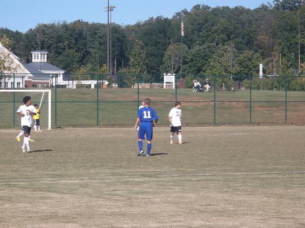 Varsity Soccer vs. STAB