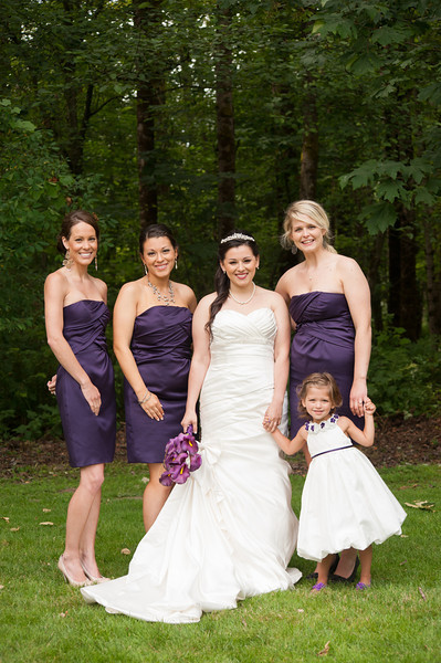 Bridal Party and Family