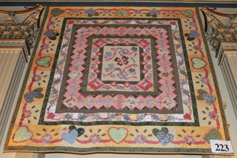 Hearts All-A-Flutter Mystery Quilt, Teri Martin