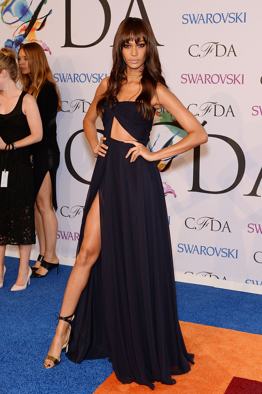 . Model Joan Smalls attends the 2014 CFDA fashion awards at Alice Tully Hall, Lincoln Center on June 2, 2014 in New York City.  (Photo by Dimitrios Kambouris/Getty Images)