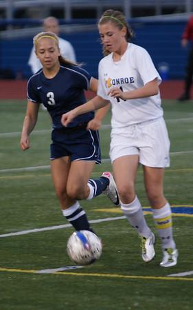 2011 Varsity Girls Soccer vs Monroe