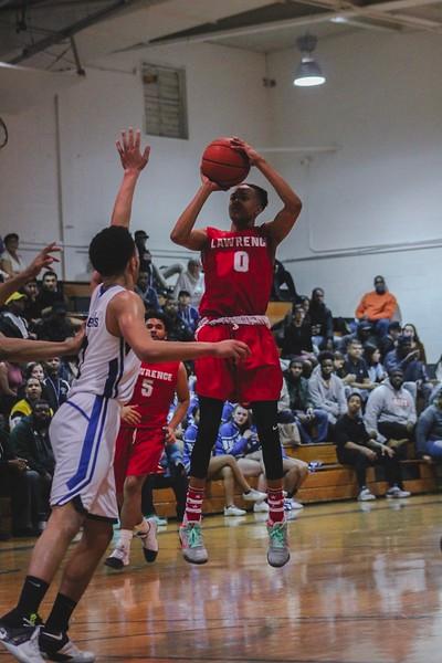 LHS Boys Varsity Basketball @ Ewing